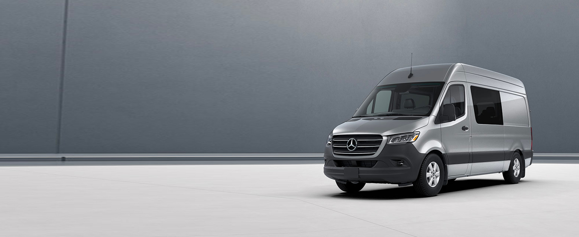 2019 Mercedes-Benz Sprinter Crew Van Info, Specs, and Images