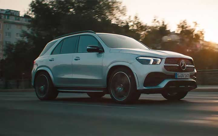 All kinds of strength. The new GLE.