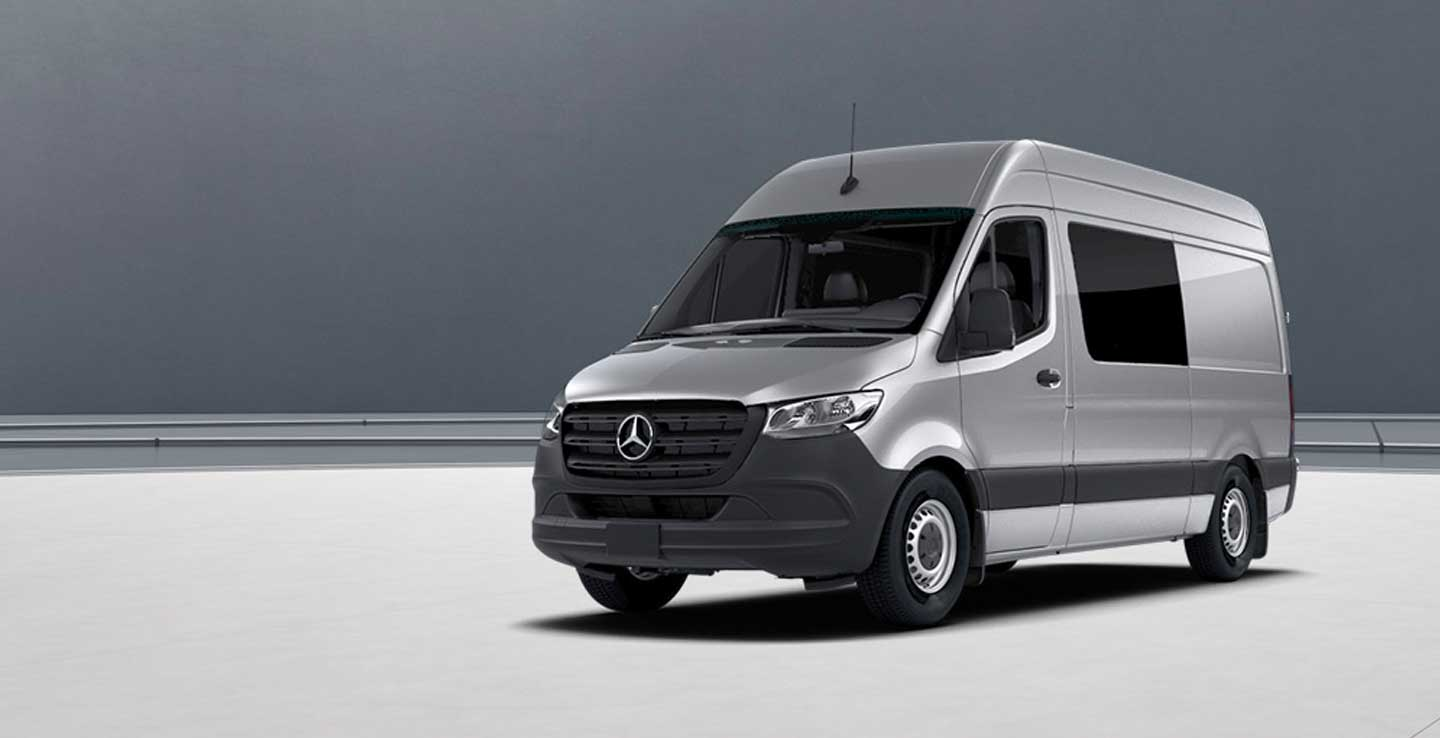 The 2019 Sprinter 4x4 Crew Van