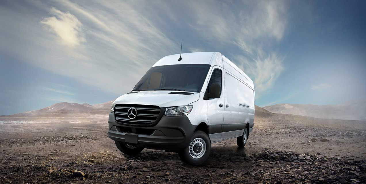 The 2019 Sprinter 4x4 Cargo Van