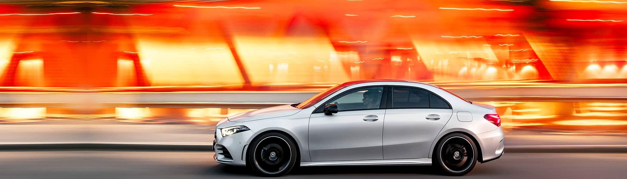The new 2019 Mercedes-Benz A-Class Sedan