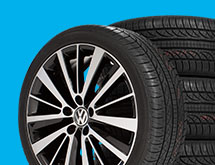 Volkswagen Approved Tire Rebate. Get a $70 Visa® Prepaid Card