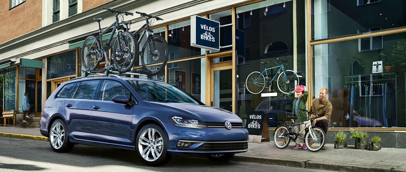 Volkswagen Golf SportWagen Hero Image