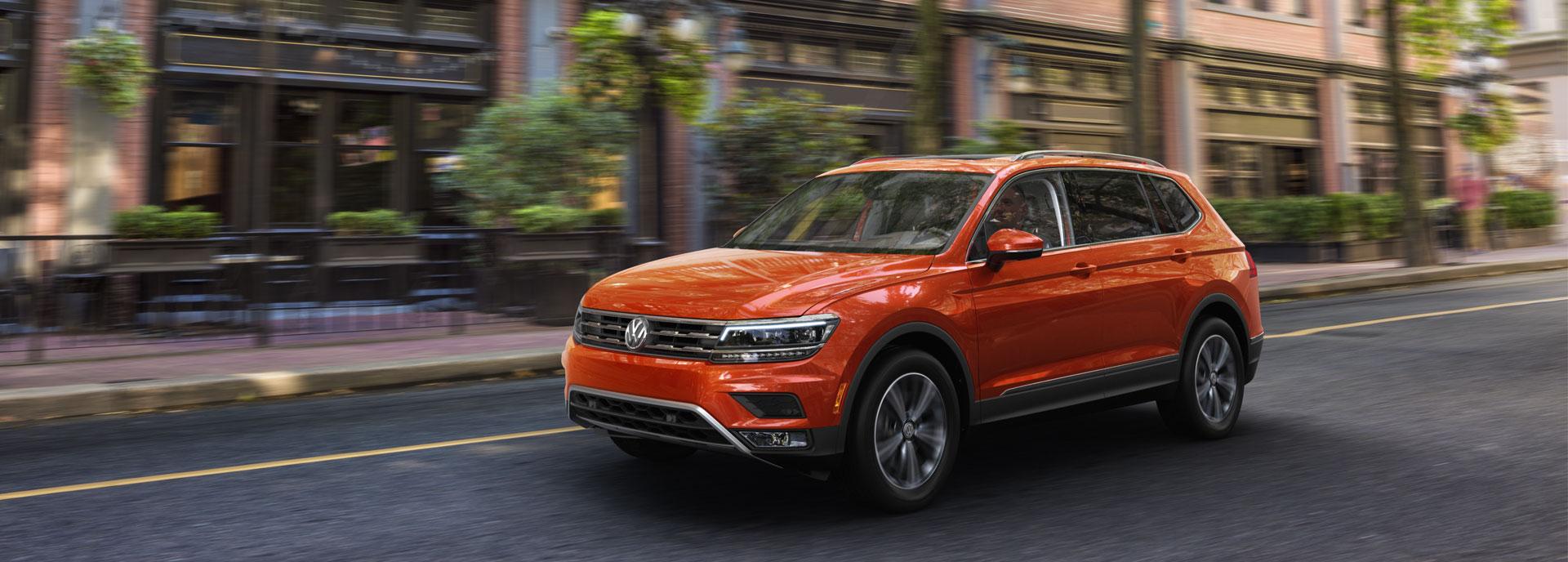 Volkswagen Tiguan Hero Image