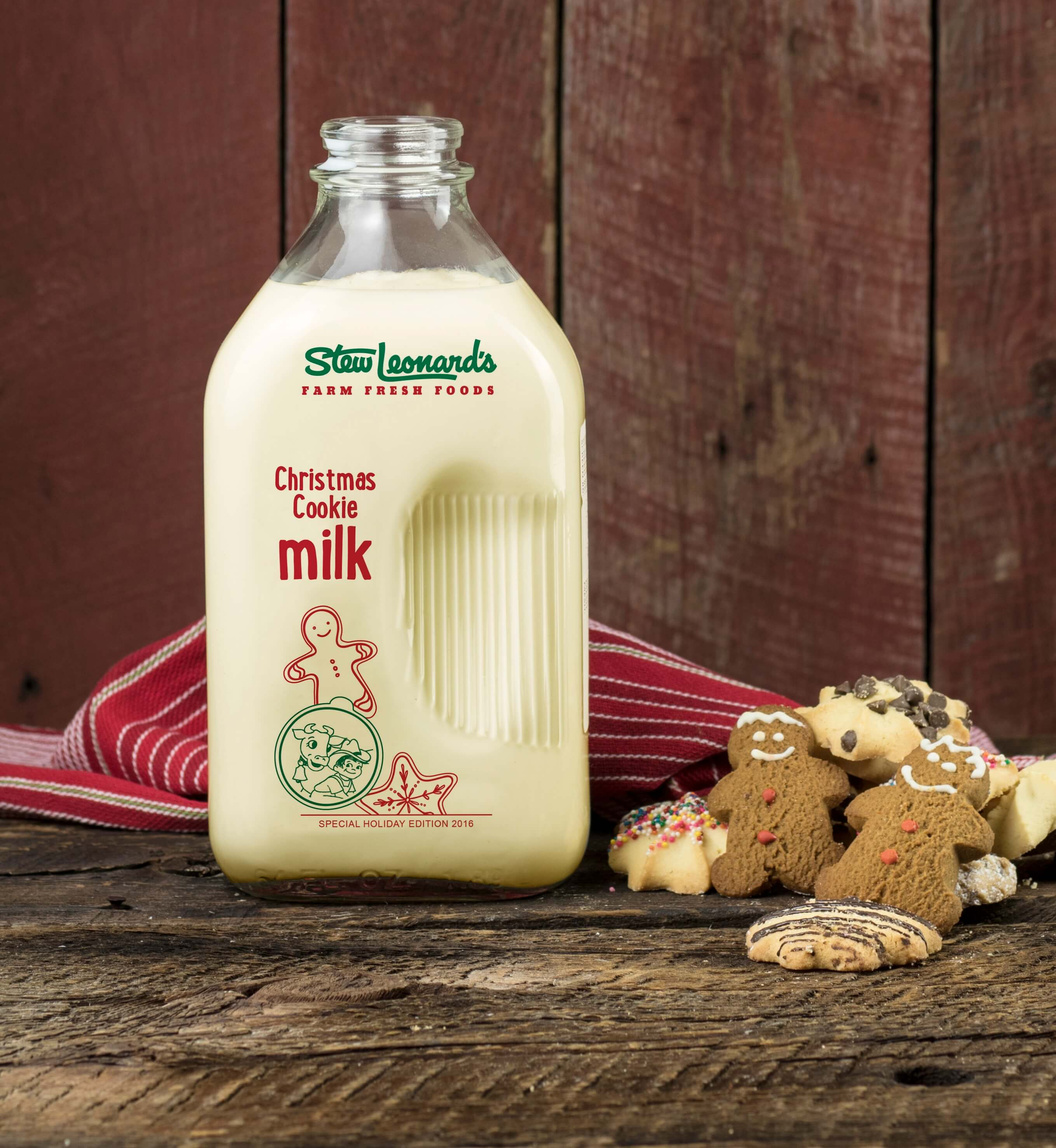 Stew Leonard's Christmas Cookie Milk