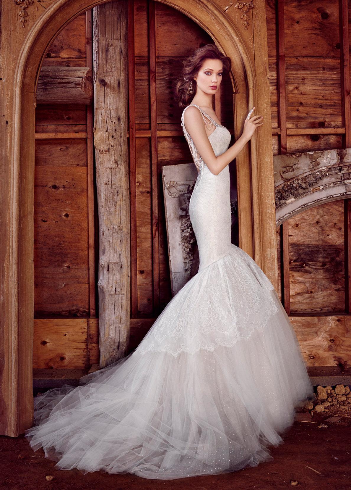 One of Lazaro's Bridal Models
