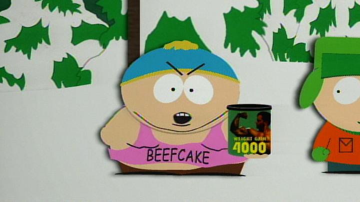 Beefcake Eric Cartman