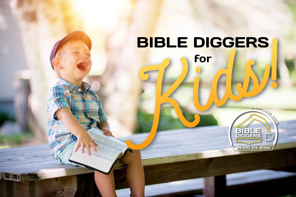 Bible Diggers For Kids - The DIG Bible Study Method