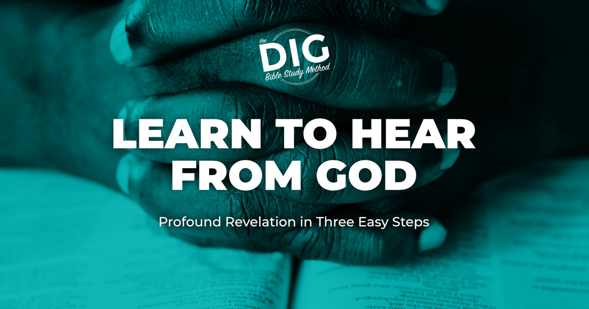 photo about Printable Revelation Bible Study named The DIG Bible Analyze Course of action - How towards Study the Bible inside 3
