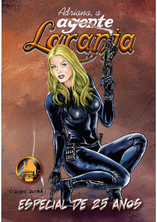 Revista em comemoração aos 25 anos da Adriana, a Agente Laranja