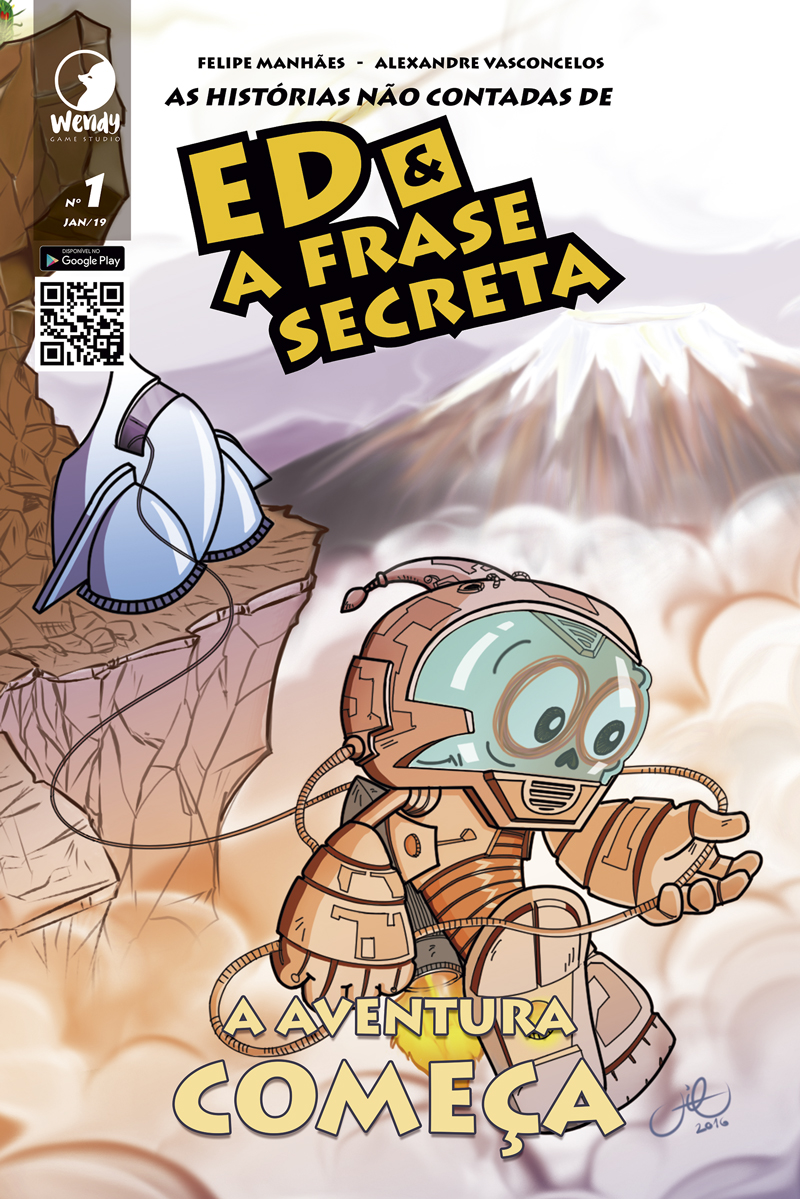 Nesta primeira edição, Ed viaja para o Planeta EKA, um planetóide azulado onde vivem pequenas e simpáticas criaturas que lhe darão uma importante missão. Ed é o único que pode ajudá-los.