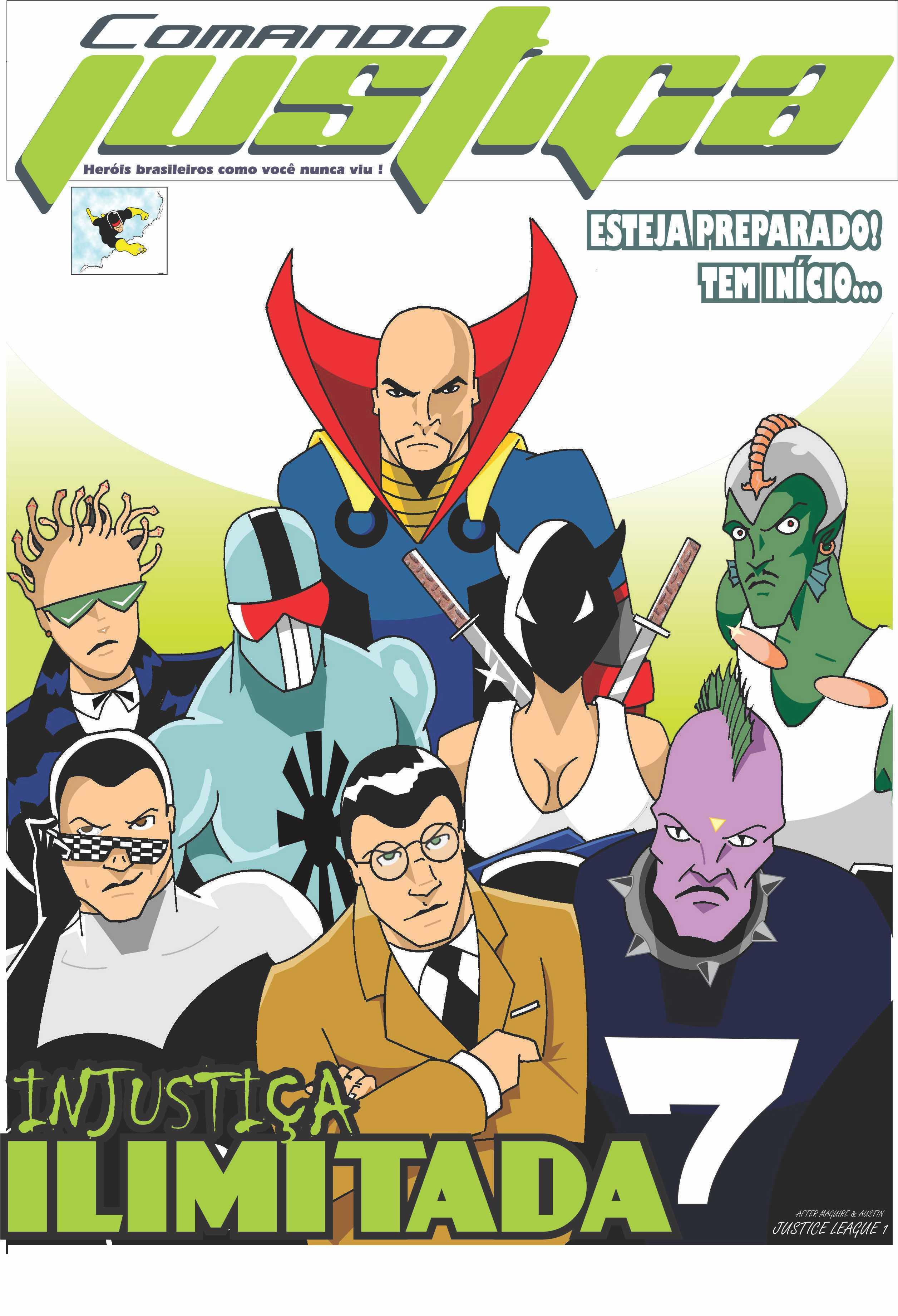Os maiores inimigos dos heróis do COMANDO reunidos sob a liderança do Dr. Solano iniciam sua ofensiva para aniquilar a equipe de super heróis!!
