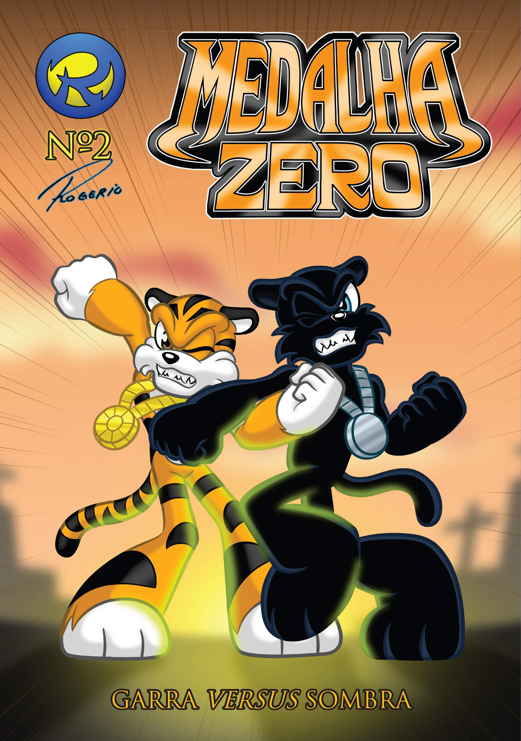 No segundo episódio da série Medalha Zero, Sombra é enviado por Dr. Mente para fazer o trabalho que Garra falhou em fazer na edição anterior. Ainda sem memória, Garra se empolga com revistas em quadrinhos de heróis e decide proteger sua amada lutando contra o novo inimigo revelando algumas coisas sobre seu passado.