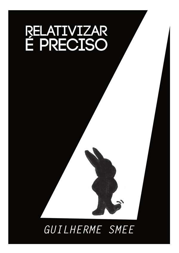 Quadrinho experimental sobre um coelho negro vivendo algumas desventuras enquanto o leitor é colocado frente a novas perspectivas de ver a história