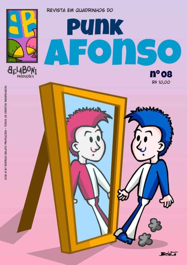 Revista em Quadrinhos do Punk Afonso - nº 08