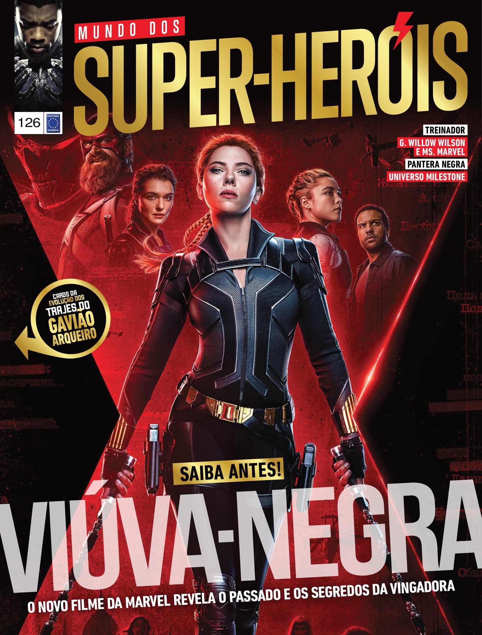 Viúva-Negra O novo filme da Marvel revela o passado e os segredos da vingadora  Treinador G. Willow Wilson e Ms. Marvel Pantera Negra Universo Milestone