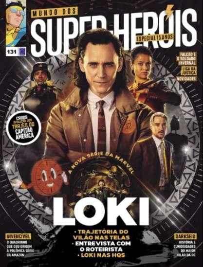 Loki  Trajetória do vilão nas telas Entrevista com o roteirista Loki nas HQs  Invensível O quadrinho que deu origem à polêmica série da Amazon  Darkseid História e curiosidades do maior vilão da DC  Falcão e o Soldado Invernal Liga da Justiça Novidades