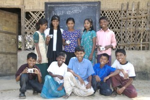 The photographers of Project Einstein Bangladesh