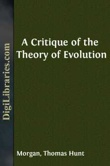 A Critique of the Theory of Evolution