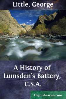 A History of Lumsden's Battery, C.S.A.