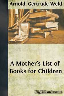 A Mother's List of Books for Children