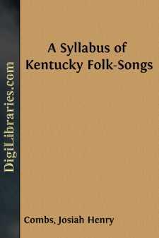 A Syllabus of Kentucky Folk-Songs