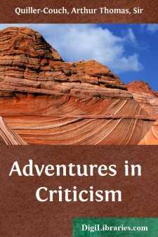 Adventures in Criticism