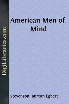 American Men of Mind