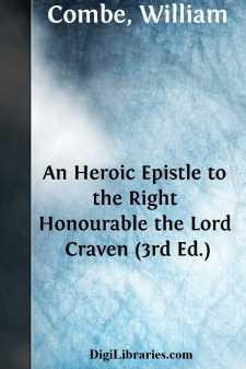 An Heroic Epistle to the Right Honourable the Lord Craven (3rd Ed.)