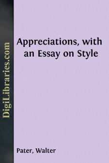 Appreciations, with an Essay on Style