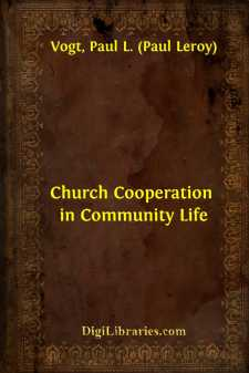 Church Cooperation in Community Life