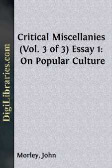 Critical Miscellanies (Vol. 3 of 3)