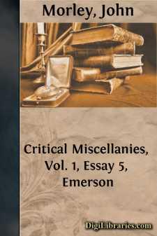 Critical Miscellanies, Vol. 1, Essay 5, Emerson