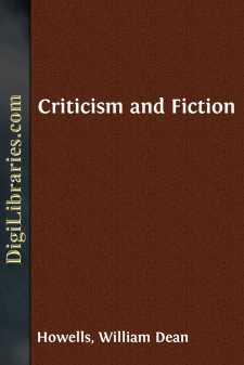 Criticism and Fiction