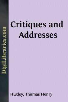 Critiques and Addresses
