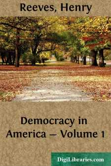 Democracy in America - Volume 1