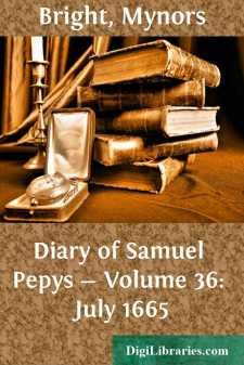 Diary of Samuel Pepys - Volume 36: July 1665