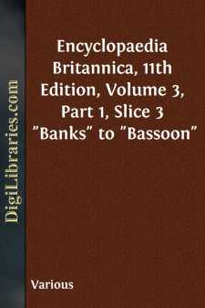 Encyclopaedia Britannica, 11th Edition, Volume 3, Part 1, Slice 3