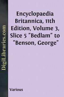 Encyclopaedia Britannica, 11th Edition, Volume 3, Slice 5