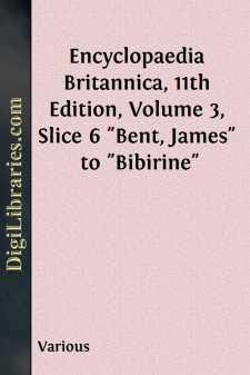 Encyclopaedia Britannica, 11th Edition, Volume 3, Slice 6