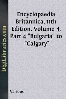 Encyclopaedia Britannica, 11th Edition, Volume 4, Part 4