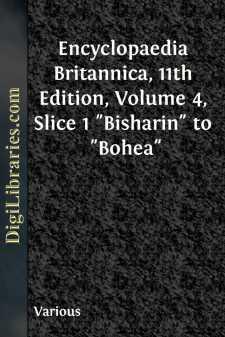 Encyclopaedia Britannica, 11th Edition, Volume 4, Slice 1