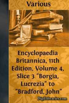 Encyclopaedia Britannica, 11th Edition, Volume 4, Slice 3