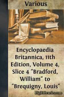 Encyclopaedia Britannica, 11th Edition, Volume 4, Slice 4
