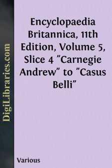 Encyclopaedia Britannica, 11th Edition, Volume 5, Slice 4