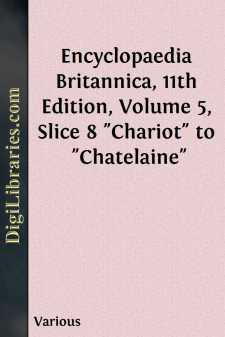 Encyclopaedia Britannica, 11th Edition, Volume 5, Slice 8