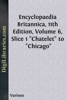 Encyclopaedia Britannica, 11th Edition, Volume 6, Slice 1