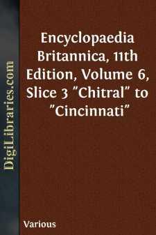 Encyclopaedia Britannica, 11th Edition, Volume 6, Slice 3