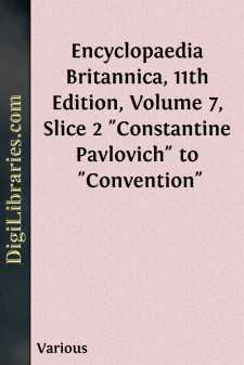 Encyclopaedia Britannica, 11th Edition, Volume 7, Slice 2