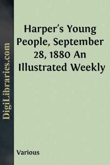 Harper's Young People, September 28, 1880 An Illustrated Weekly